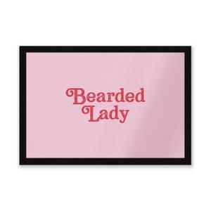 Bearded Lady Entrance Mat