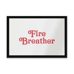 Fire Breather Entrance Mat