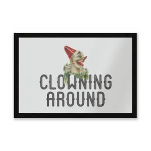 Clowning Around Entrance Mat