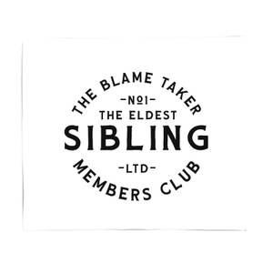 The Eldest Sibling The Blame Taker Fleece Blanket