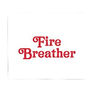 Fire Breather Fleece Blanket