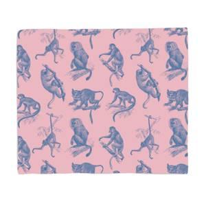 Monkeys Fleece Blanket