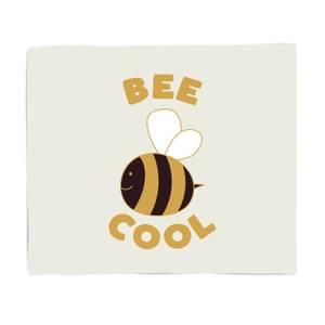 Bee Cool Fleece Blanket