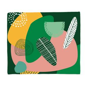 Earth Garden Fleece Blanket