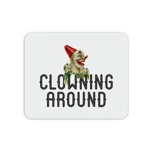 Clowning Around Mouse Mat