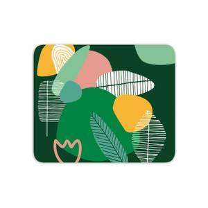 Earth Garden Print Mouse Mat