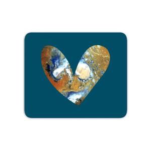 Heart Earth Mouse Mat