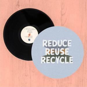 Reduce, Reuse, Recycle Slip Mat