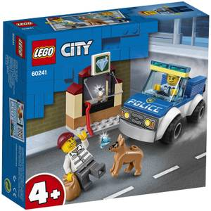 LEGO 4+ City: Police Dog Unit Building Set (60241)