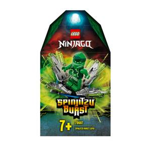 LEGO NINJAGO: Spinjitzu Burst- Lloyd Green Ninja Spinner (70687)