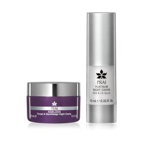 PRAI Nightime Booster Set for Face and Neck (Worth £25.00)