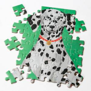 Talking Tables Double Sided Pooch Jigsaw Puzzle - Dalmation