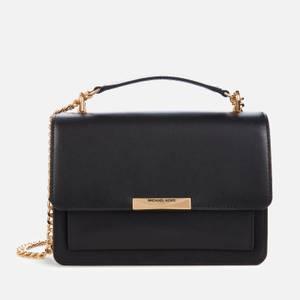 MICHAEL Michael Kors Women's Jade Gusset Shoulder Bag - Black