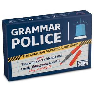 Grammar Police Card Game