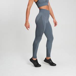 MP Women's Raw Training Ribbed Seamless Leggings - Galaxy