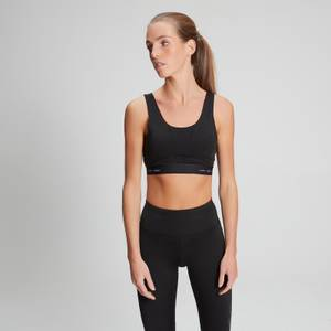 MP Women's Power Ultra Sports Bra - Black/Danger