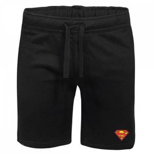 DC Superman Unisex Jogger Shorts - Black
