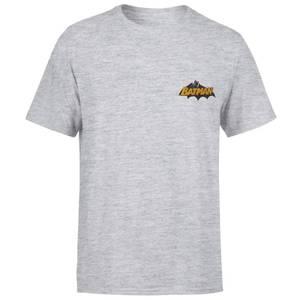 DC Batman Embroidered Unisex T-Shirt - Grey