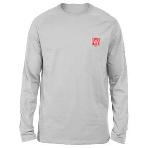 Transformers Autobots Unisex Long Sleeved T-Shirt - Grey