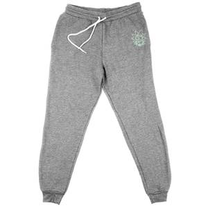 Joggers Rick and Morty Rick con Ricamo - Grigio - Unisex