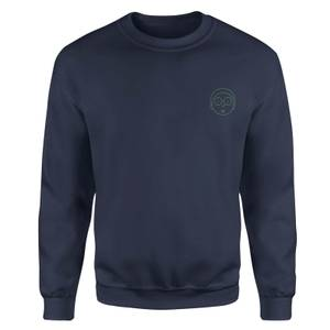 Rick and Morty Morty Embroidered Unisex Sweatshirt - Navy