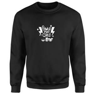The Powerpuff Girls Thunderbolts Sweatshirt - Black