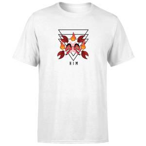The Powerpuff Girls Him Unisex T-Shirt - White