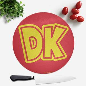 Donkey Kong Round Chopping Board