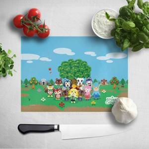 Animal Crossing Chopping Board