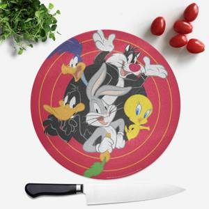 Looney Tunes Round Chopping Board