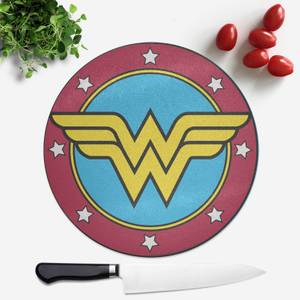 Wonder Woman Shield Round Chopping Board