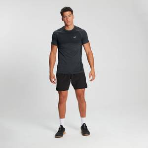 MP Men's Essential Short Sleeve Seamless T-Shirt - Carbon Marl