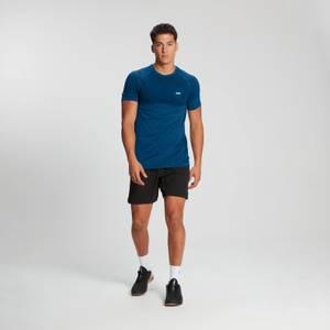 MP Men's Essential Short Sleeve Seamless T-Shirt - Pilot Blue Marl