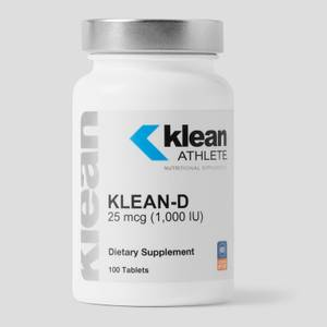 Klean-D 25 mcg (1,000 IU) - 100 Tablets