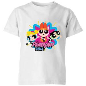 The Powerpuff Girls Kids' T-Shirt - White