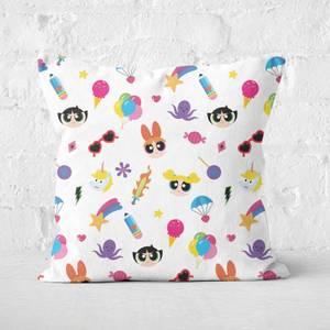 The Powerpuff Girls Colourful Square Cushion