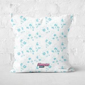 The Powerpuff Girls Bubble Square Cushion