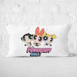 The Powerpuff Girls Pink PPG Heart Rectangular Cushion
