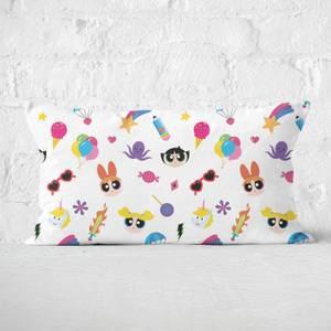 The Powerpuff Girls Colourful PPG Rectangular Cushion