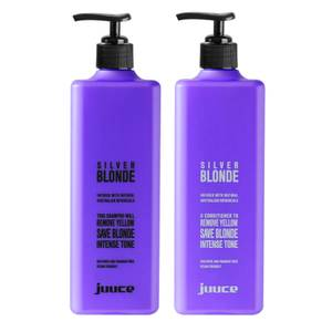 Juuce Silver Blonde Shampoo and Conditioner Duo 2 x 1L