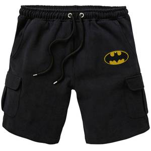 DC Batman Unisex Cargo Shorts - Black
