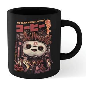 Ilustrata Black Coffee Kaiju Mug - Black