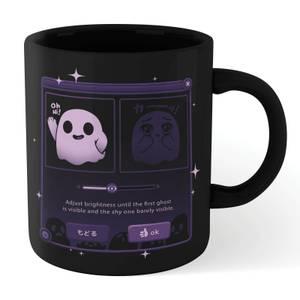 Ilustrata Dandere Ghost Mug - Black
