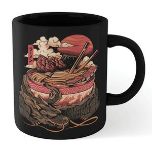 Ilustrata Dragon's Ramen Mug - Black