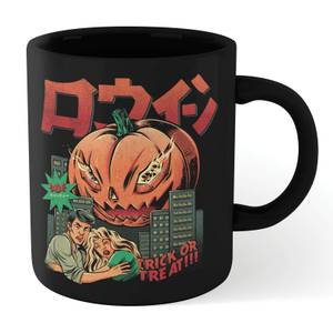 Ilustrata Pumpkiller Kaiju Mug - Black