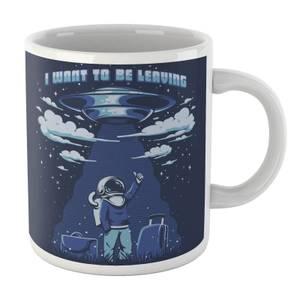 Ilustrata I Want to Be Leaving Mug