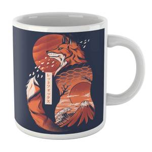 Ilustrata Japanese Fox Mug