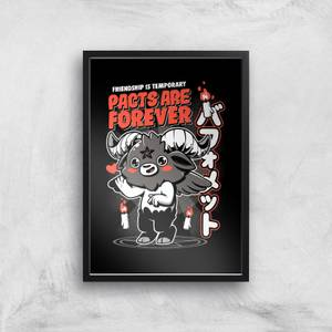 Ilustrata Pacts Are Forever Giclee Art Print