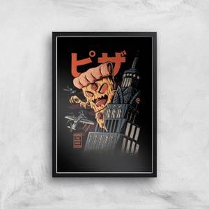 Ilustrata Pizza Kong Giclee Art Print