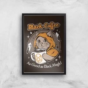 Ilustrata Black Coffee Giclee Art Print